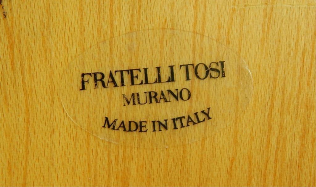 Italian Murano Art Glass Vanity/Table Top Mirror - 5