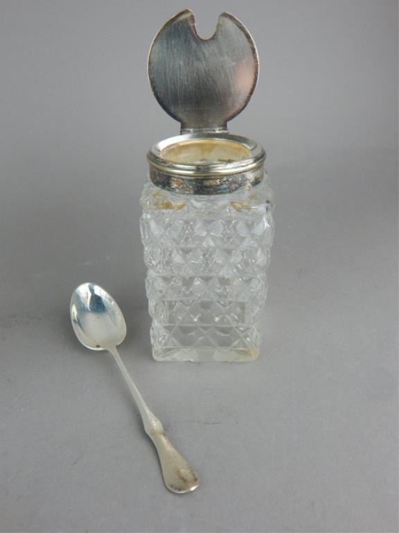Vintage Cut Crystal Biscuit & Condiment Jars - 2