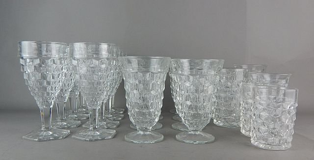 Vintage American Fostoria Glasses