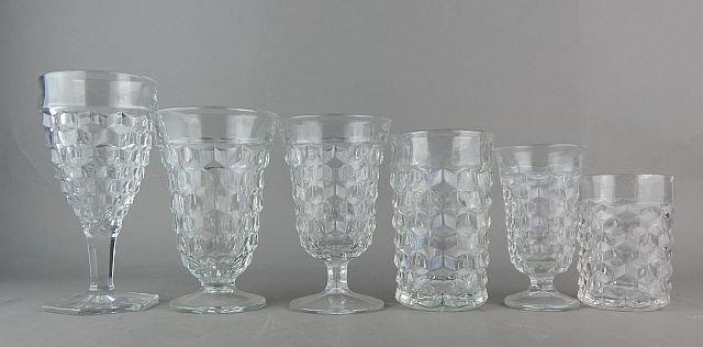 Vintage American Fostoria Glasses - 2
