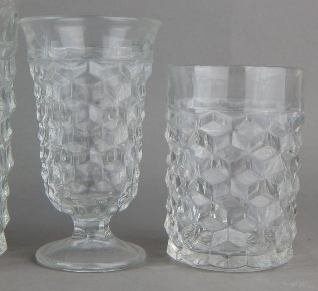 Vintage American Fostoria Glasses - 3