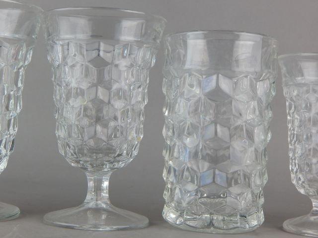 Vintage American Fostoria Glasses - 4
