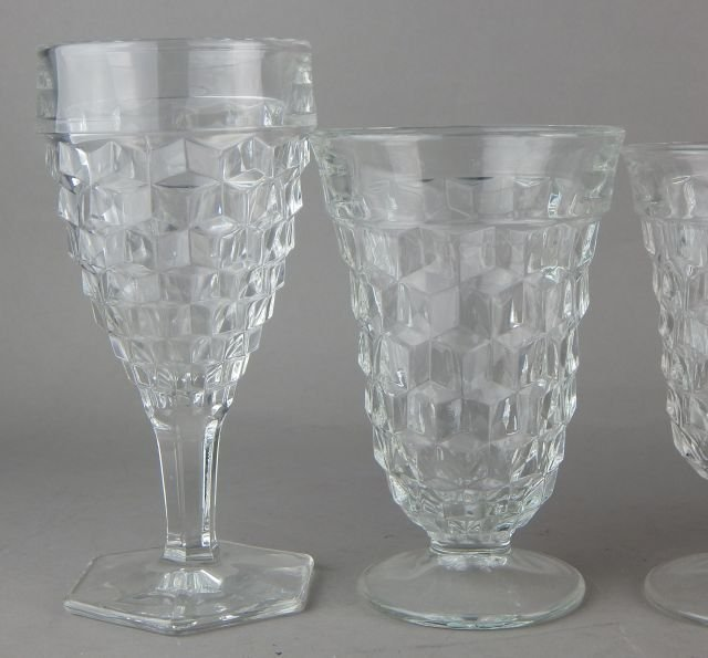 Vintage American Fostoria Glasses - 5