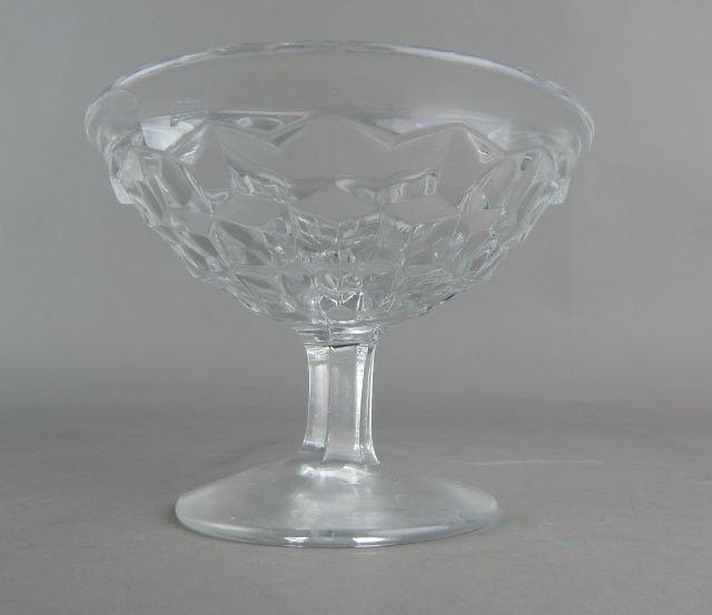 Vintage American Fostoria Glass Desserts - 3