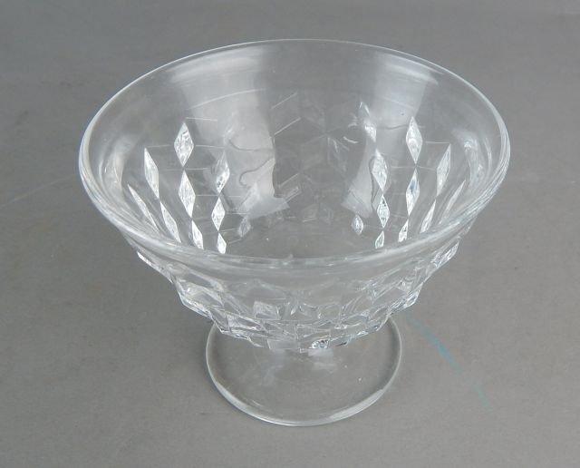 Vintage American Fostoria Glass Desserts - 6