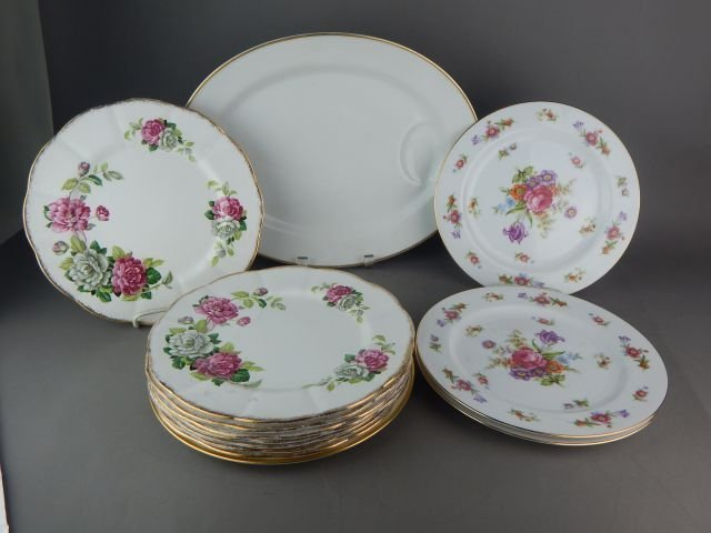 Royal Albert, Sango & Flintridge Plates
