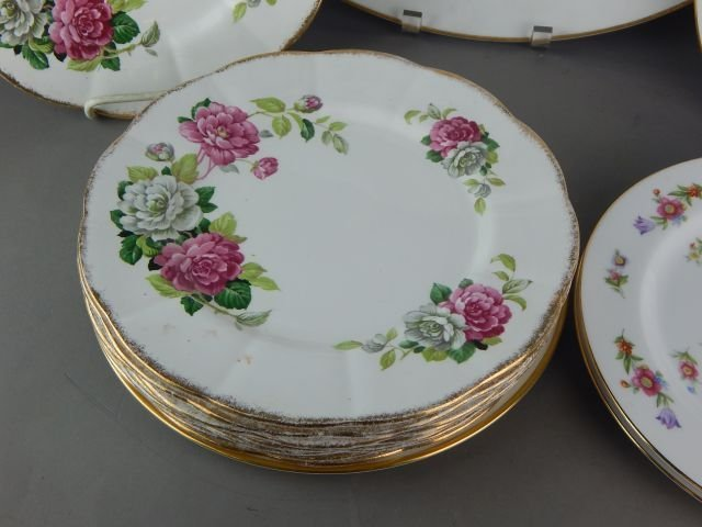 Royal Albert, Sango & Flintridge Plates - 2
