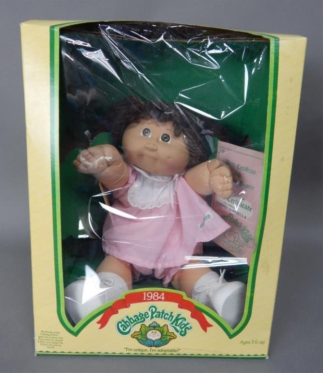 1984 Cabbage Patch Kid Doll