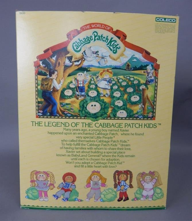 1984 Cabbage Patch Kid Doll - 2