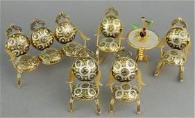 Miniature Toledo Spain Parlor Set