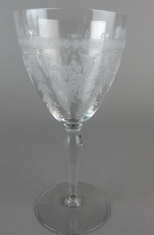 Etched Stemware and Desserts - 3
