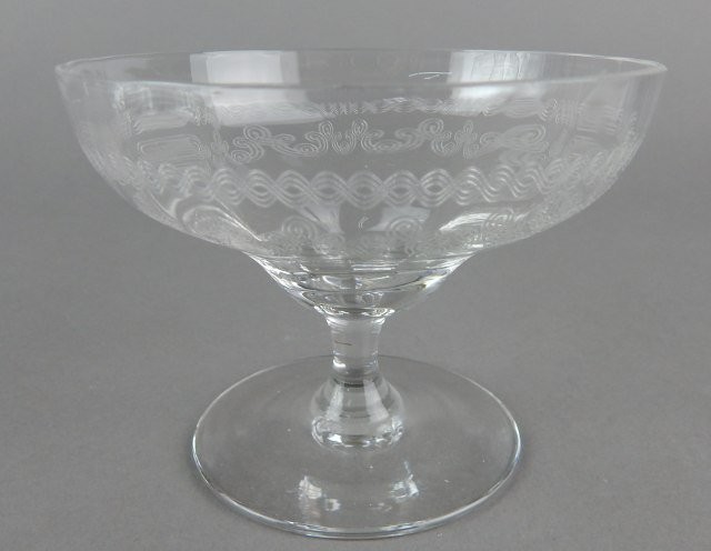 Etched Stemware and Desserts - 4