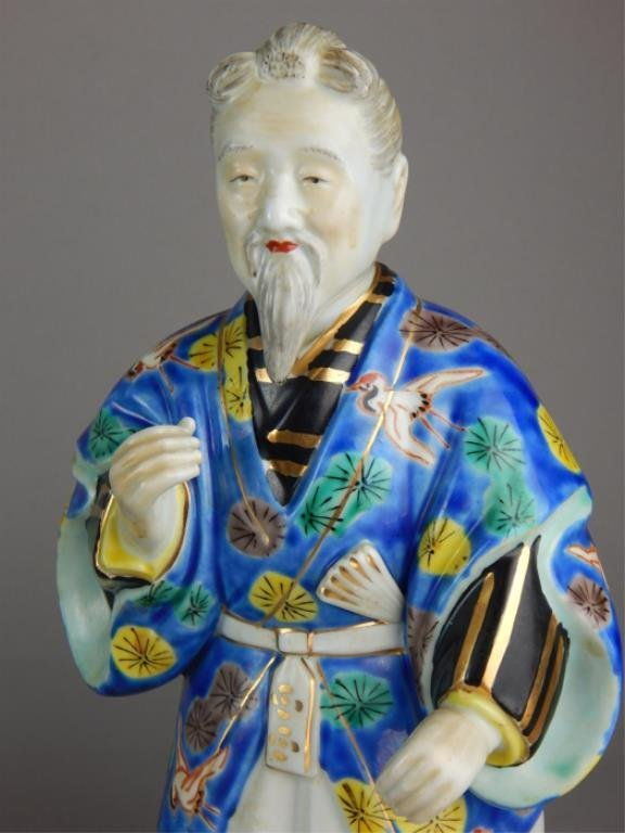 Old Chinese Porcelain Figure - 2