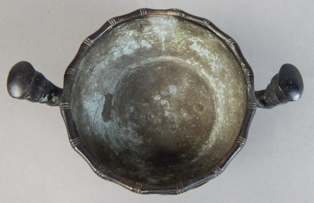 Chinese Quin Year Bronze Pot - 3