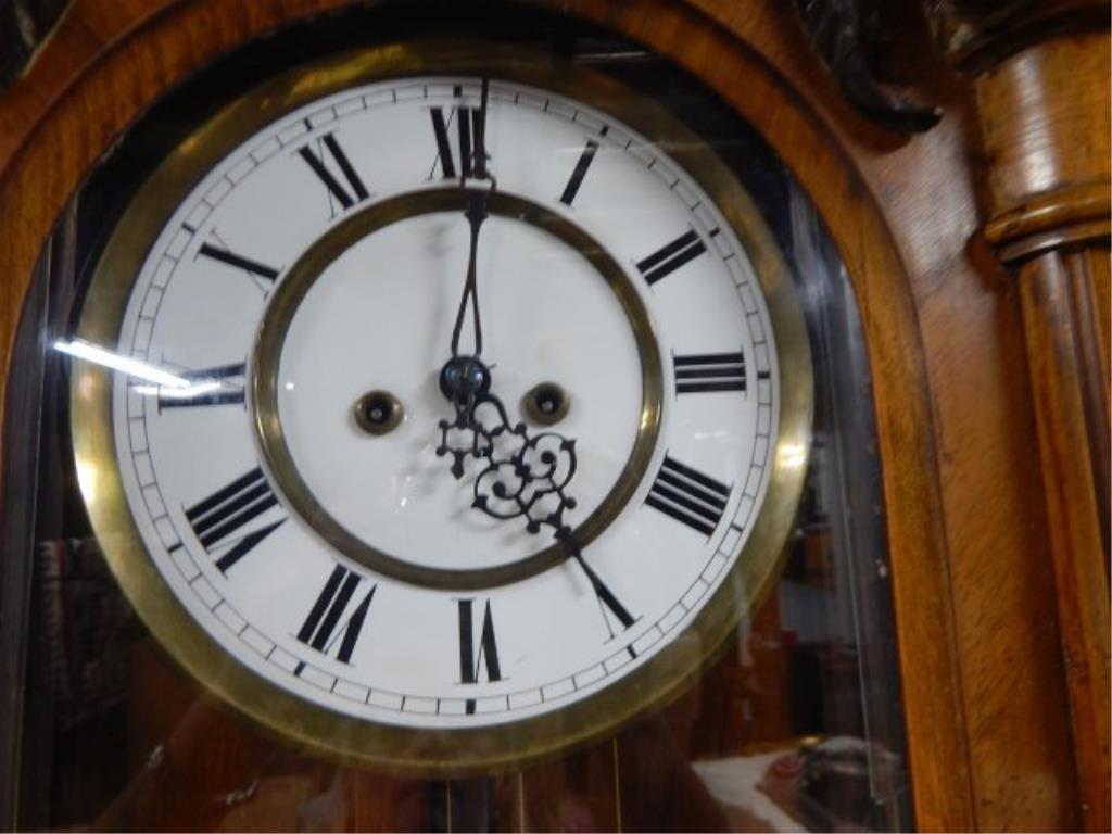1870's 2 Weight Regulator 8-Day Clock - 2