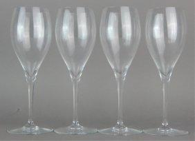 Baccarat Tall Clear Crystal Stemware
