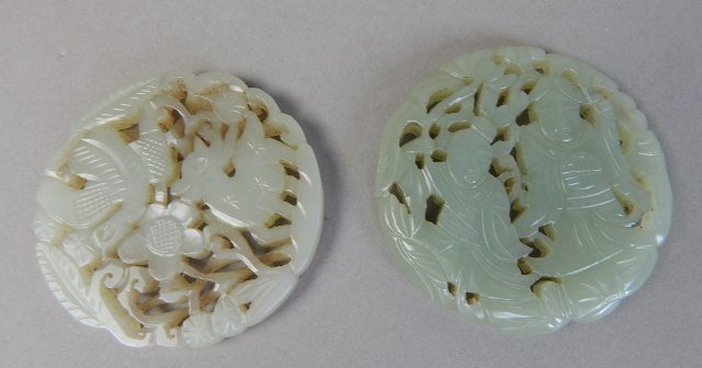 Two Old Chinese Jade Carvings - 2