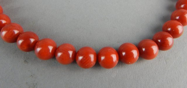 Natural Coral Necklace - 3