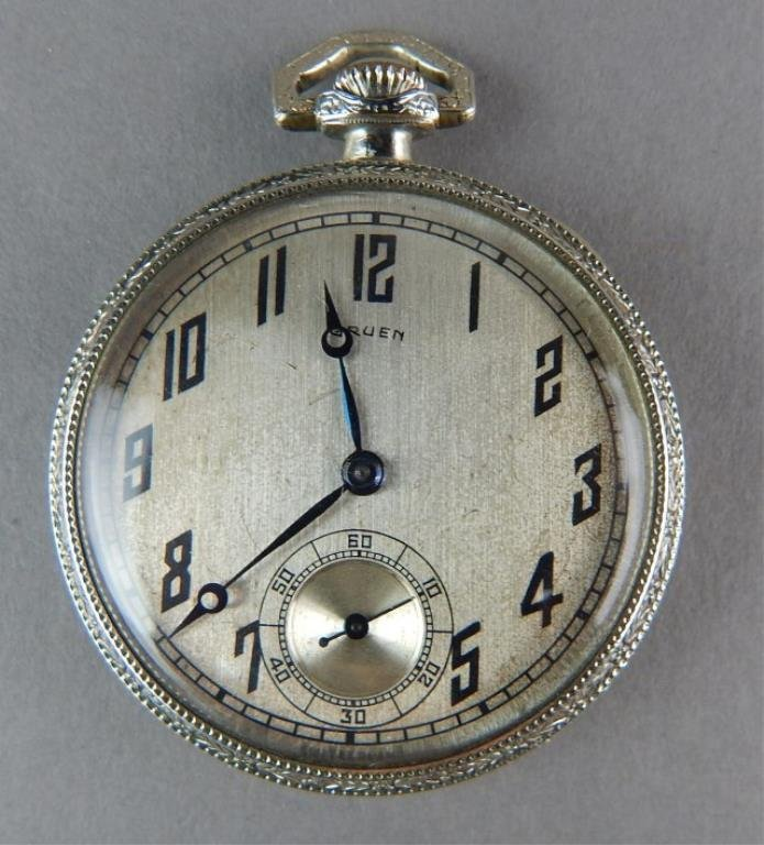 Six Old Pocket Watches - 4