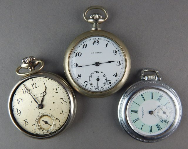 Nine Pocket Watches For Parts - 4