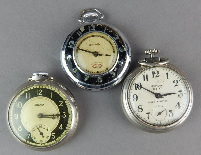 Nine Pocket Watches For Parts - 5