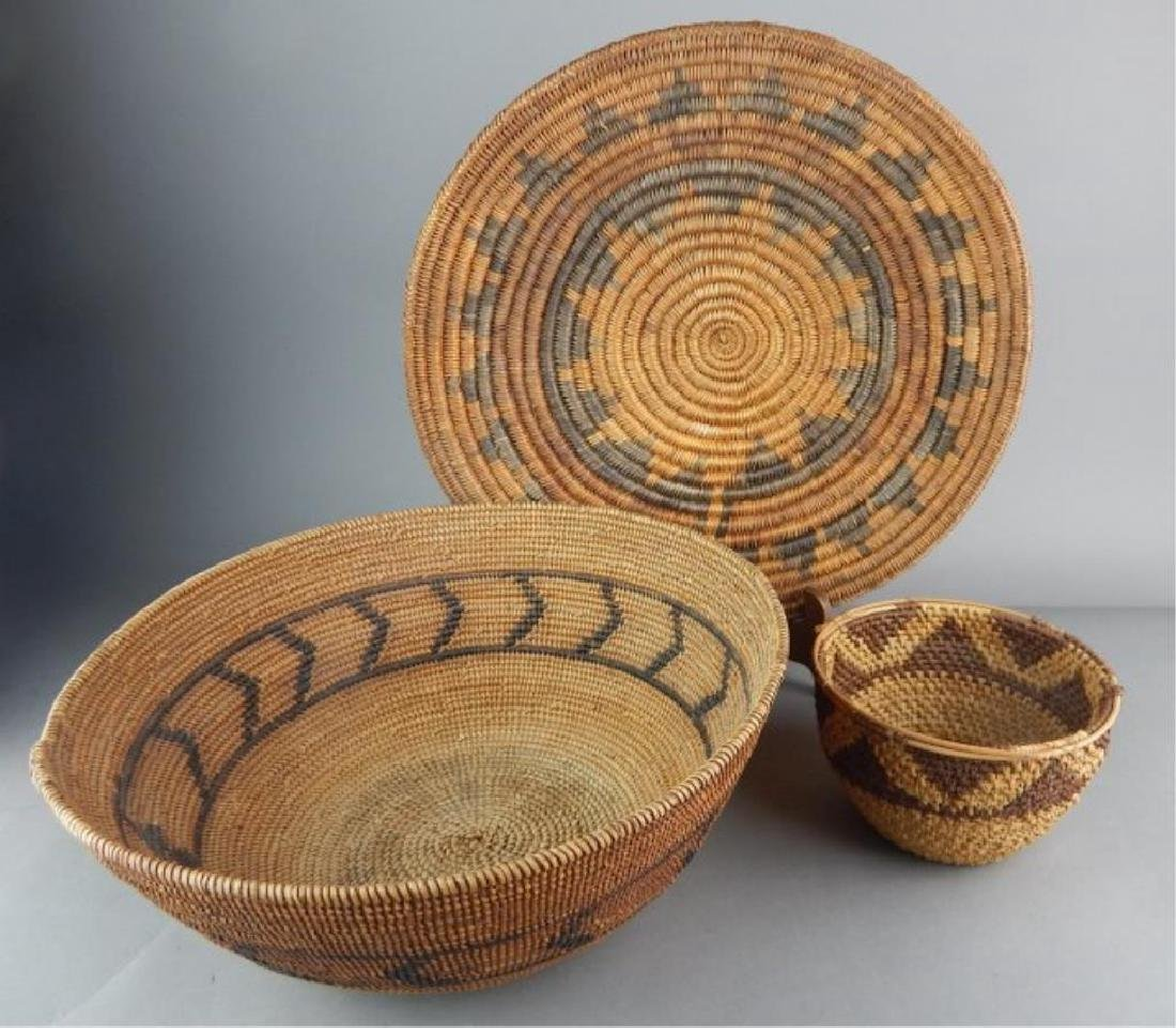 American Indian and Other Baskets