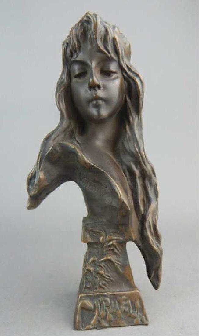 Art Nouveau Carmela Bust