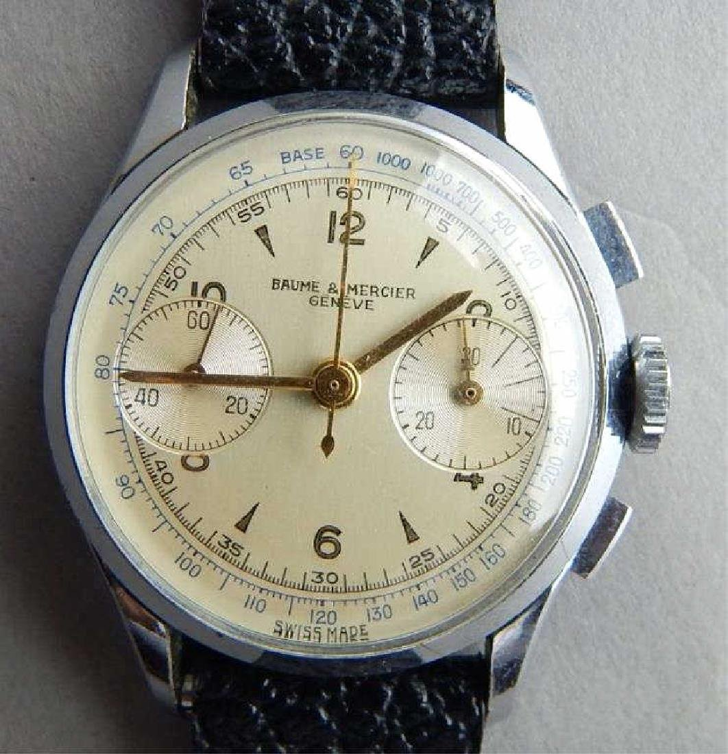 1940's Baume and Mercier Chronograph Watch