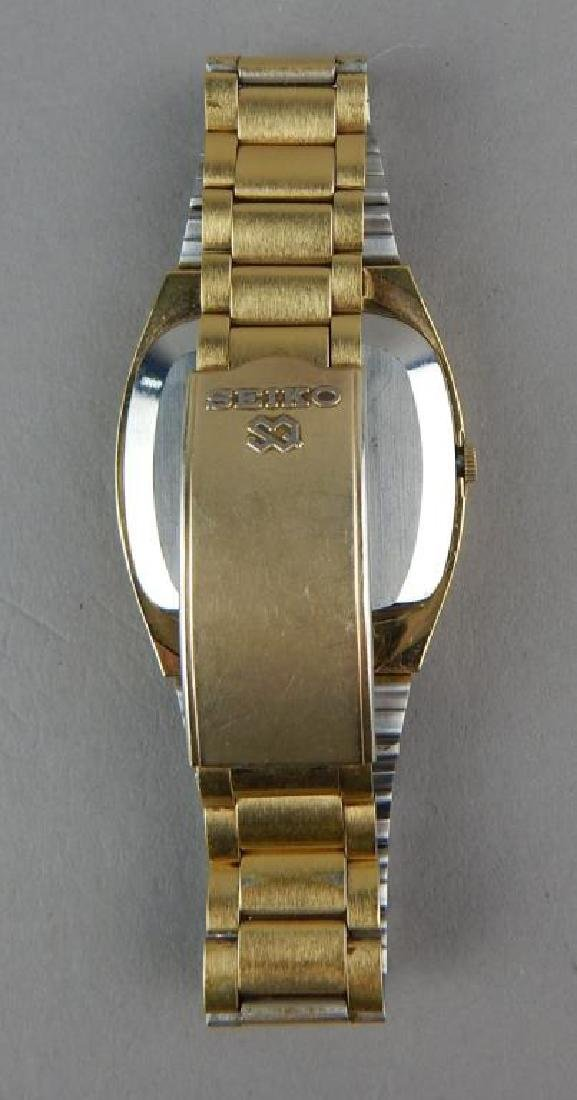 Men's Gold Seiko Quartz Watch - 2