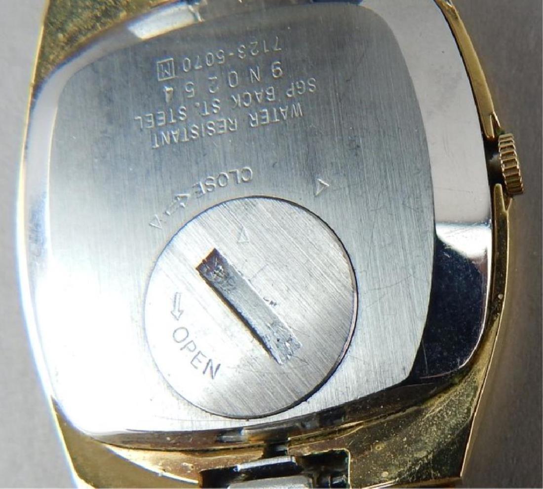 Men's Gold Seiko Quartz Watch - 3