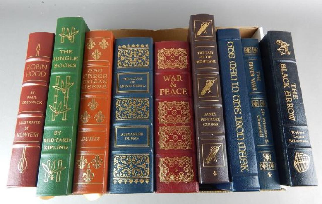 Forty-Two Easton Press Books