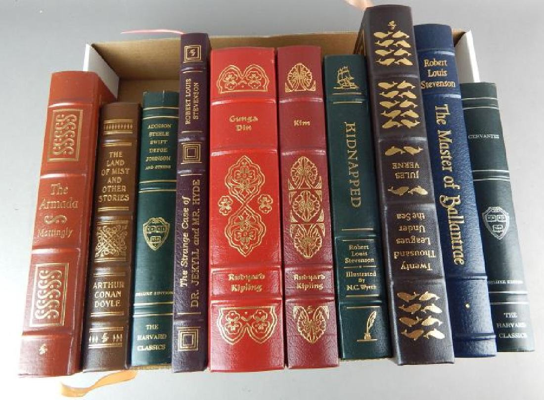 Forty-Two Easton Press Books - 3