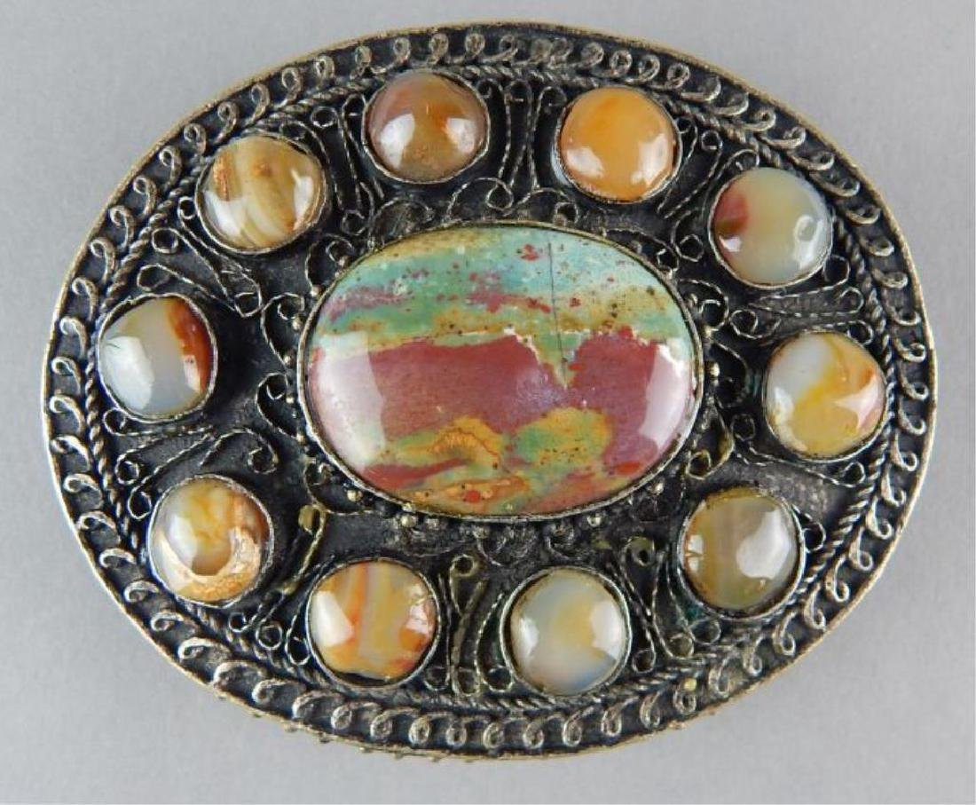Agate Belt Buckle