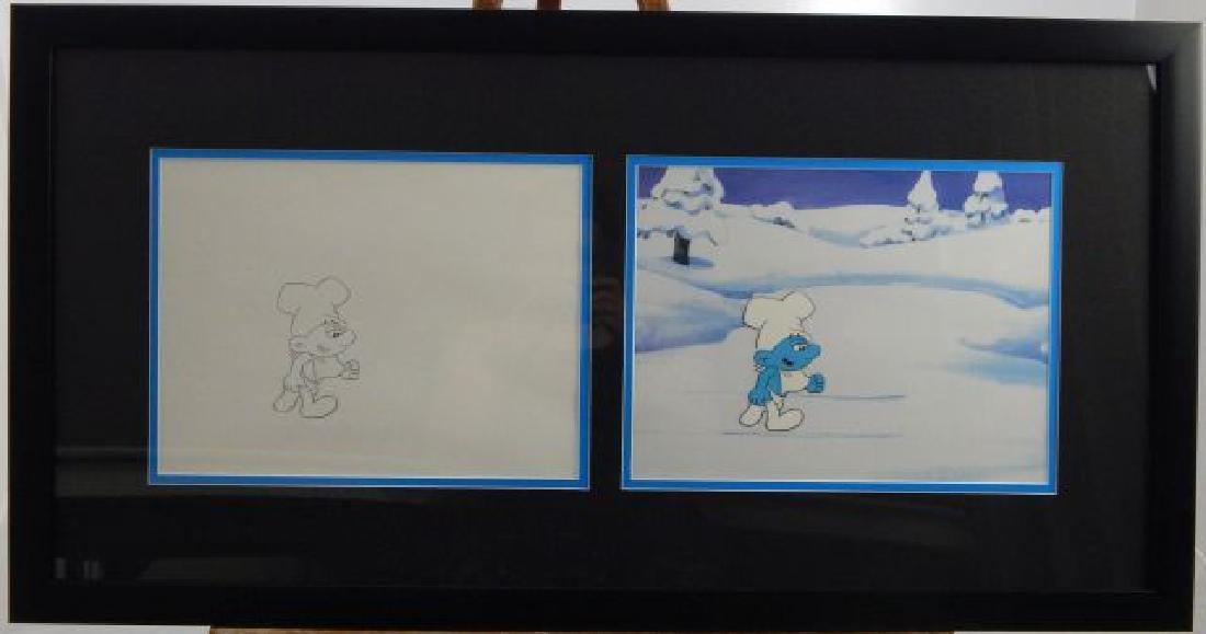 """(279) Hanna Barbera """" Smurfs"""""""