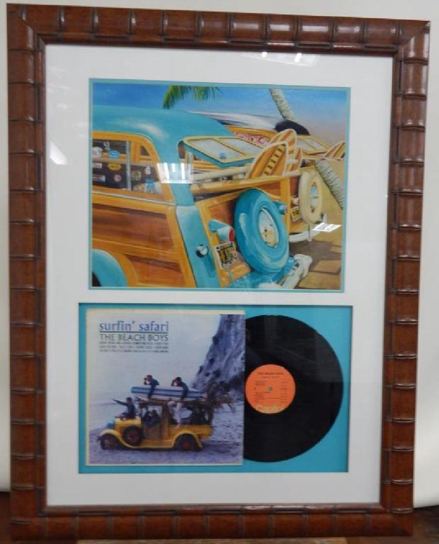 Beach Boys Album Autographed By Original Band Members