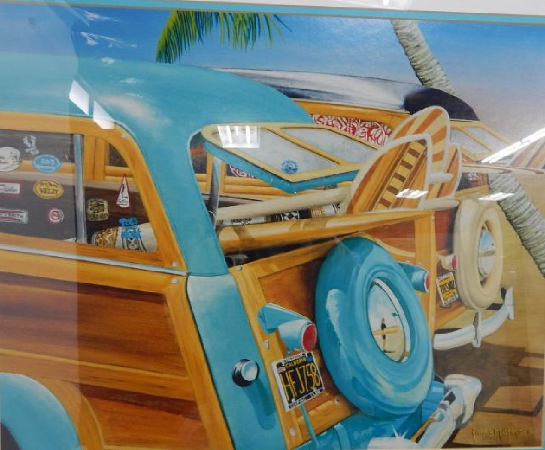 Beach Boys Album Autographed By Original Band Members - 2