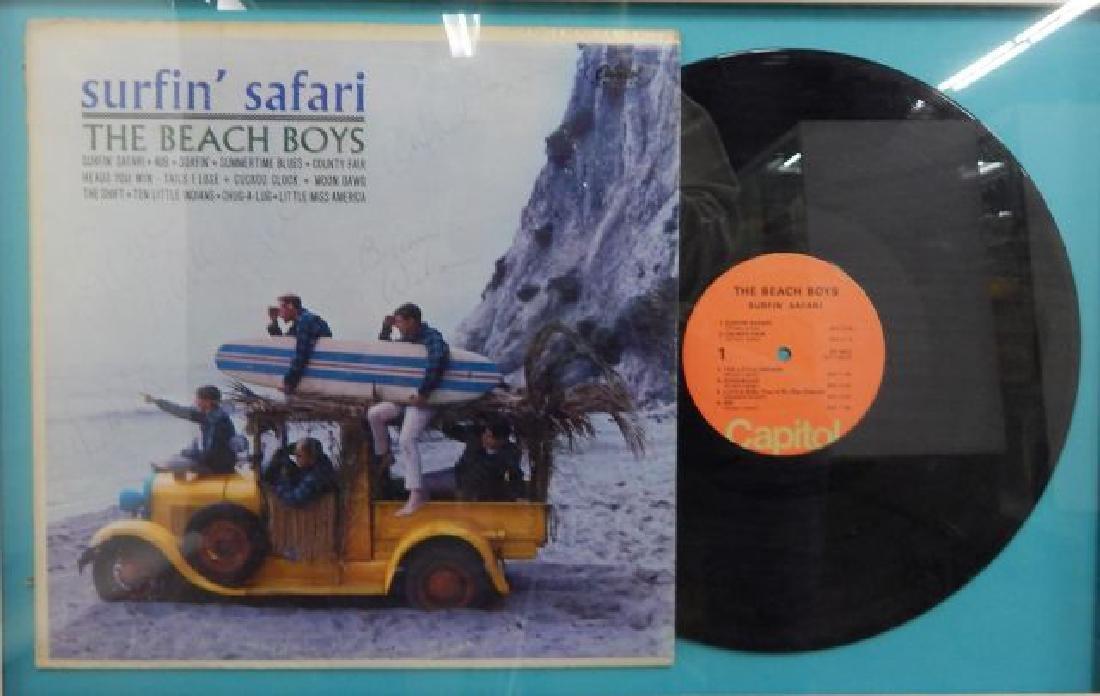 Beach Boys Album Autographed By Original Band Members - 3
