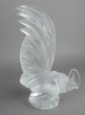 Lalique Rooster