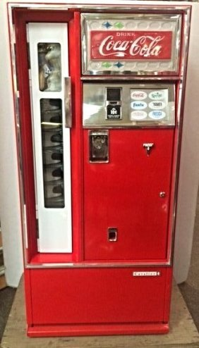 Coca-Cola Cavalier 64 Vending Machine