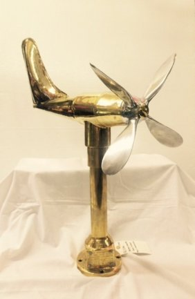 Bronze Ship Anemometer and Wind  Vane Sensor