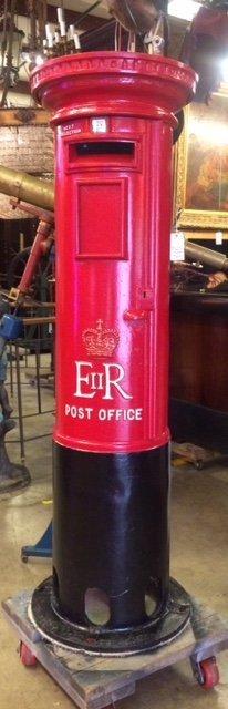 Restored  English Post office Box
