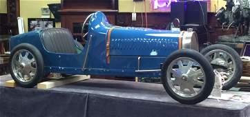 "Replica 1930 ""Baby"" Bugatti Type 52 Electric Car"