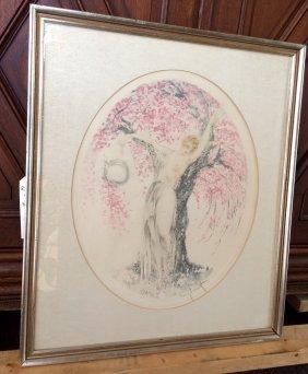 """Original Louis Icart """"Cherry Blossom"""""""