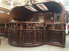 Nautical pub bar