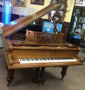 Rosewood C. Bechstein Grand Piano