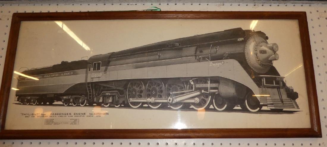 Lot of 2 Southern Pacific railroad drawings - 4