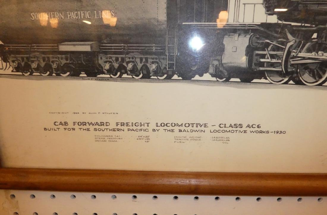Lot of 2 Southern Pacific railroad drawings - 5