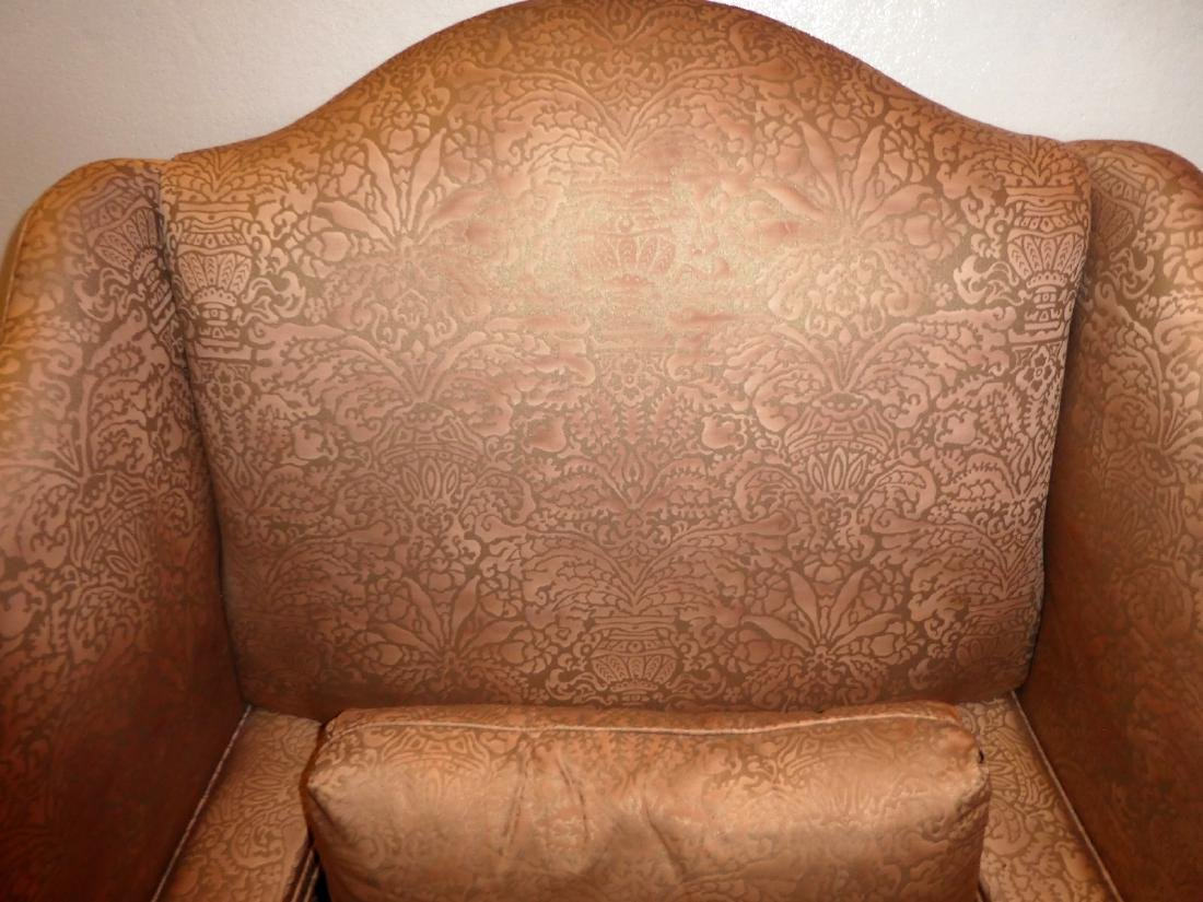 Pair of Lillian August fireside wingback chairs - 2