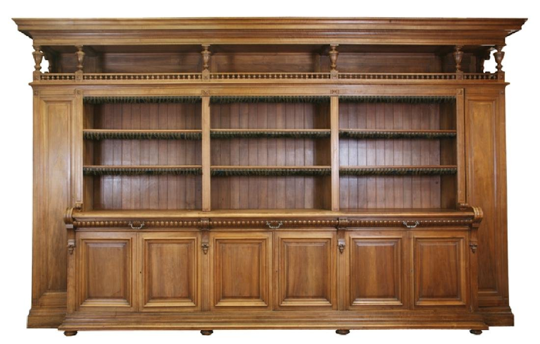 French bookcase from a notary's office from Paris