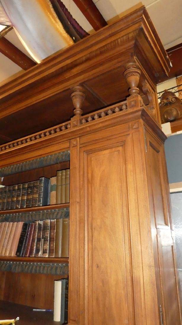 French bookcase from a notary's office from Paris - 5